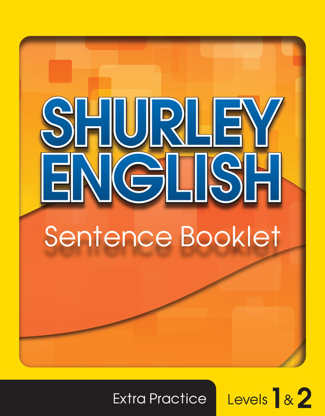 Sentence Booklet level 1