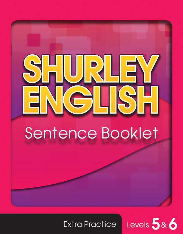 Sentence Booklet level 6