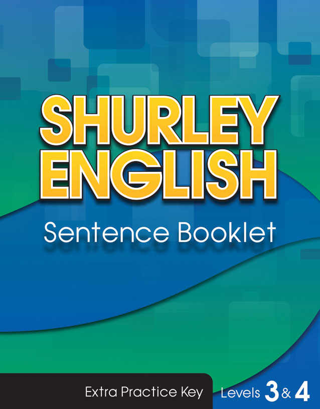 Sentence Booklet Key level 3