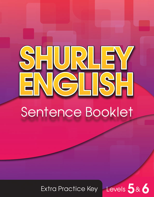 Sentence Booklet Key level 6