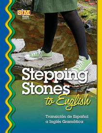 Stepping stones to english cover