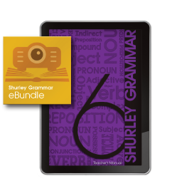 Shurley Grammar eBundle level 6