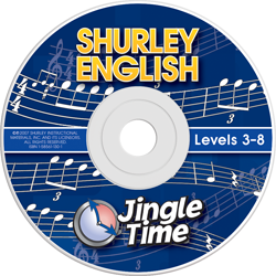 Jingle Time CD (Levels 3-8) level 8
